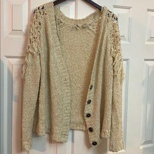 Gimmicks by BKE sweater cardigan XL Supercute